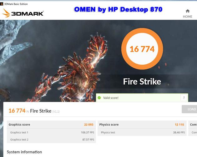 Firestrike16774